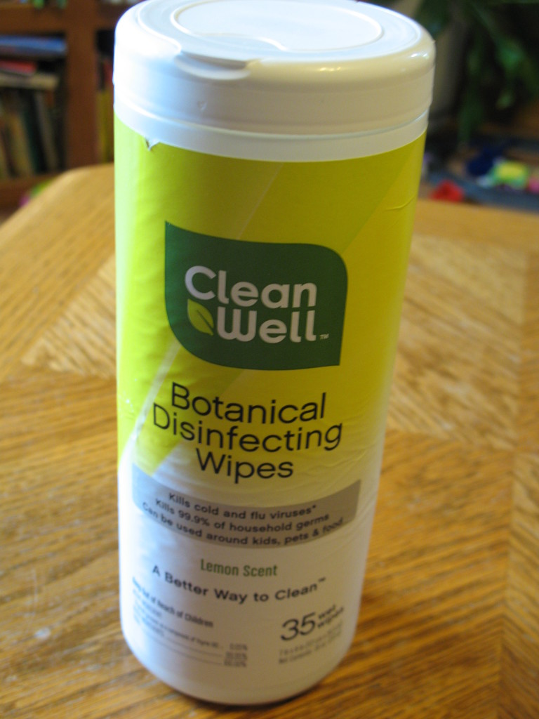 Cleanwell botanical disinfecting wipes review central minnesota mom for Cleanwell botanical disinfectant bathroom cleaner