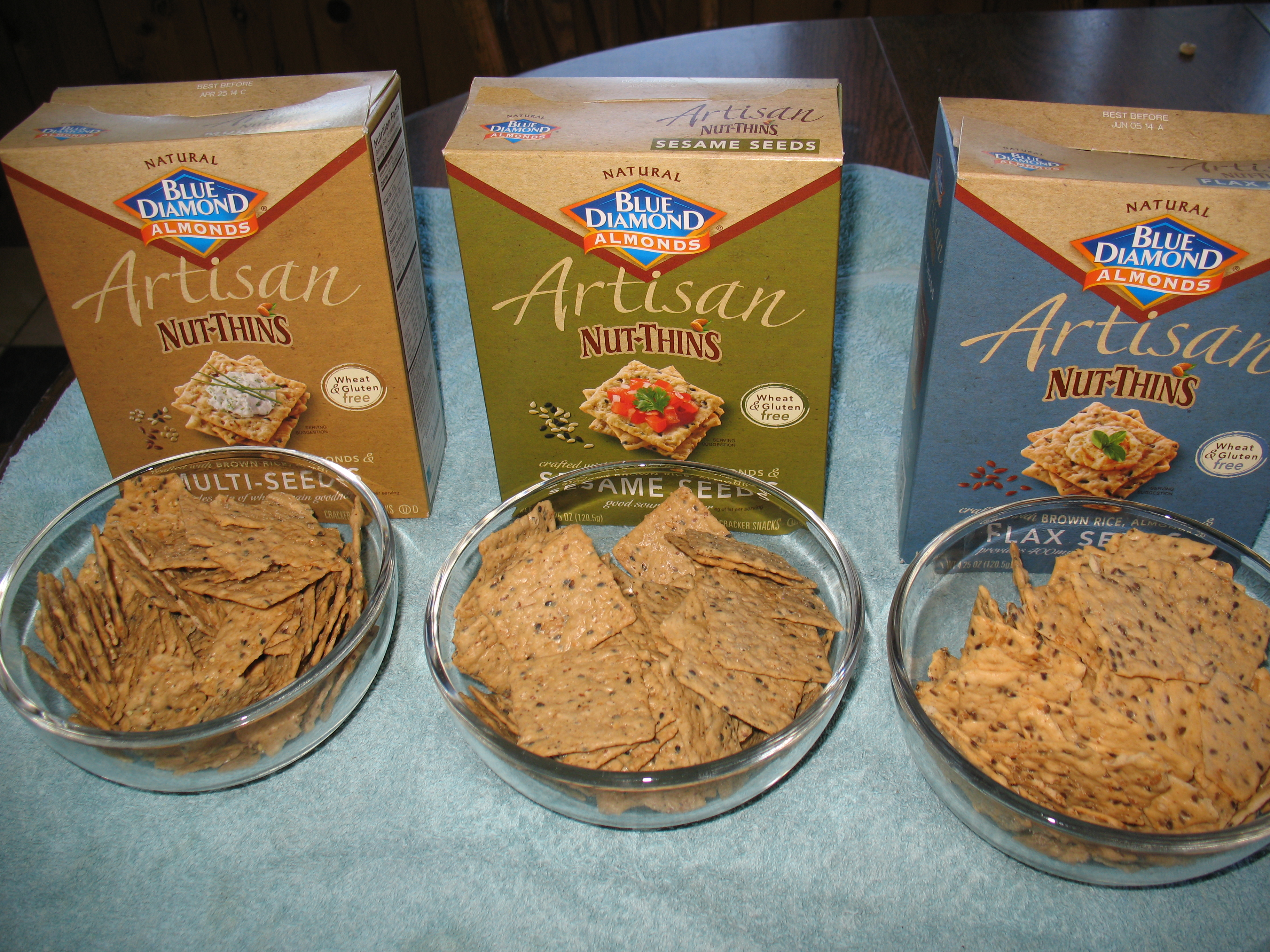 Blue Diamond Almond Artisan Nut Thins Review