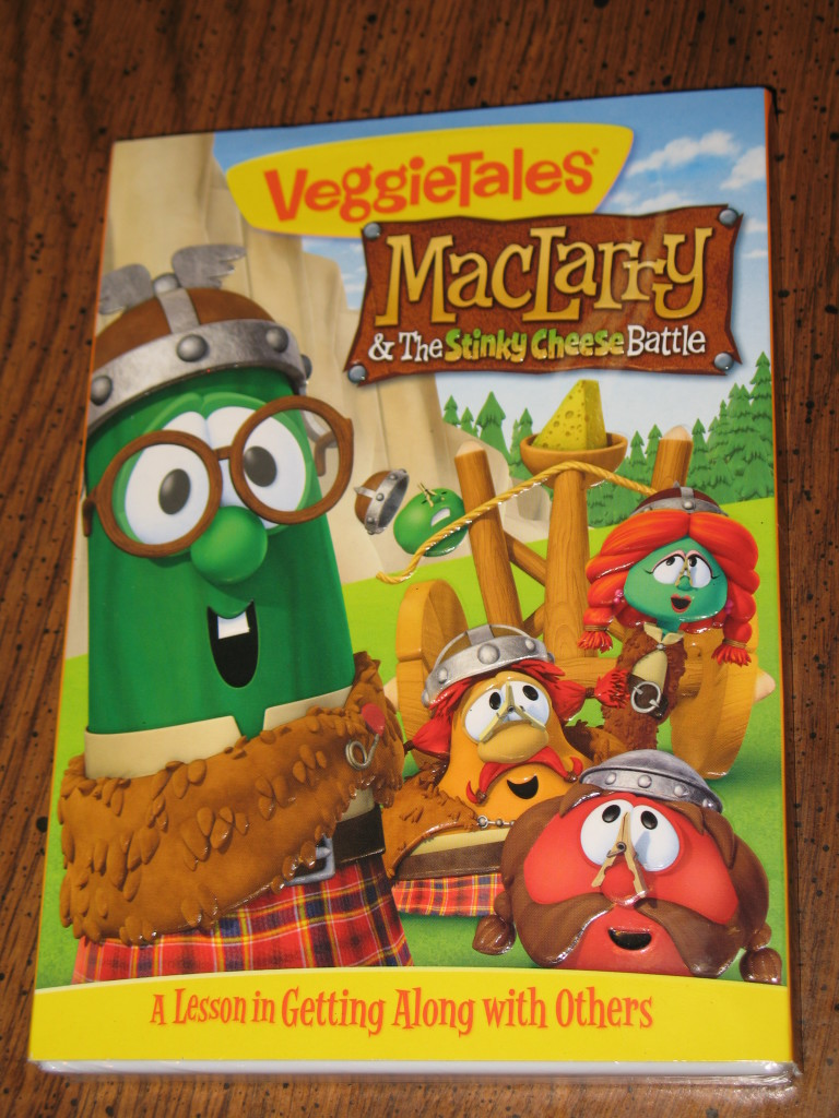 VeggieTales MacLarry and the Stinky Cheese Battle Review and DVD Giveaway
