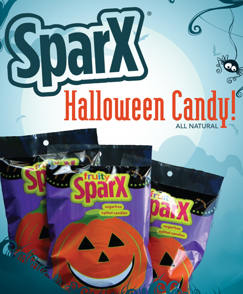 SparX Halloween Candy Flyer