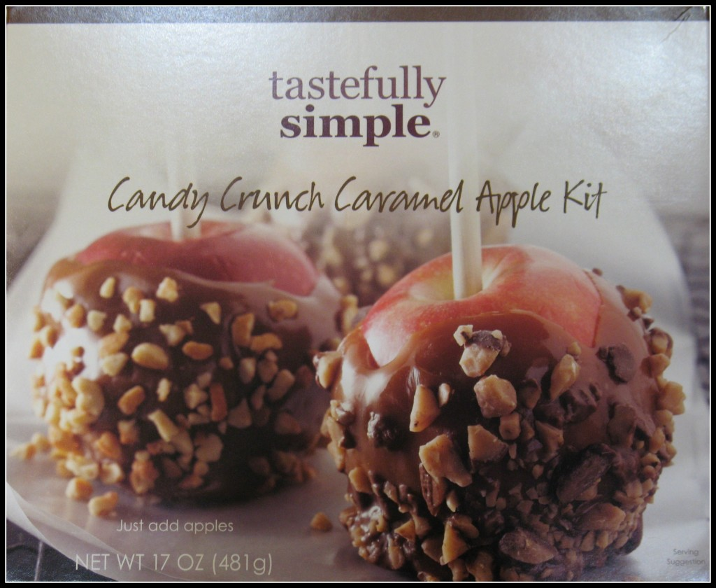 Tastefully Simple Candy Crunch Caramel Apple Kit Review and Giveaway