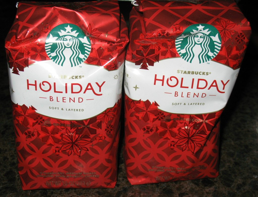 Starbucks Holiday Blend Review and Giveaway