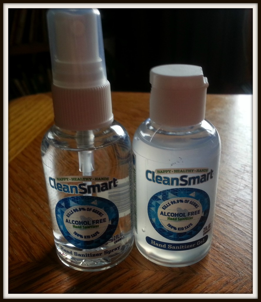 CleanSmart Alcohol Free Hand Sanitizer Review and Giveaway