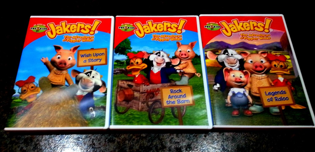 Jakers! The Adventures of Piggley Winks DVD Review and Giveaway