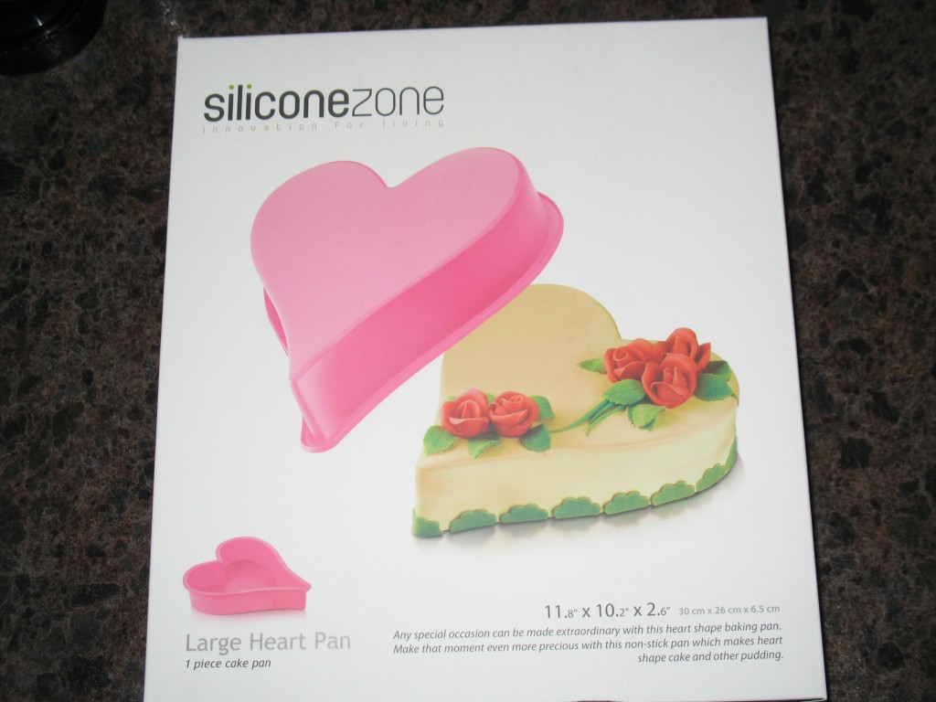 Siliconezone Heart Pan Review and Giveaway Perfect for V-Day