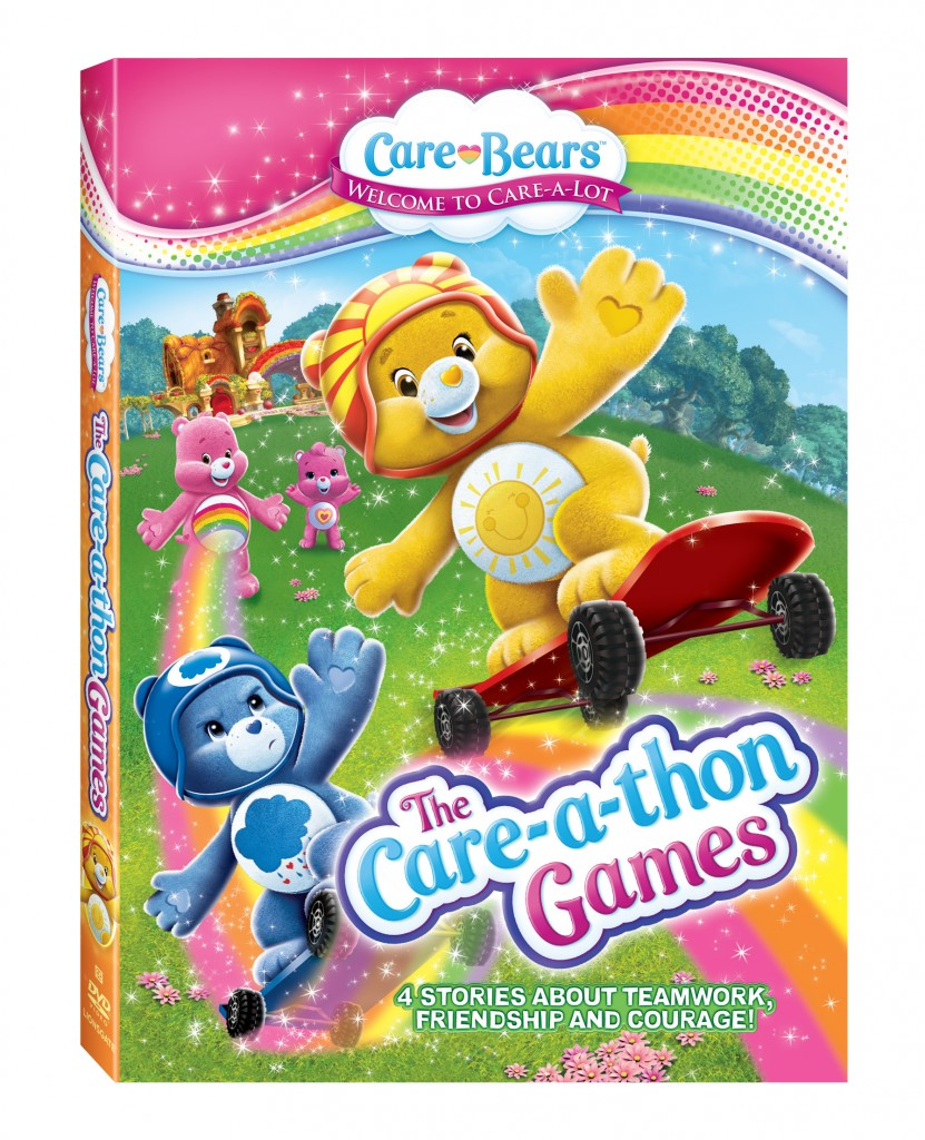 Care Bears Care-a-thon Games DVD Released February 4, 2014