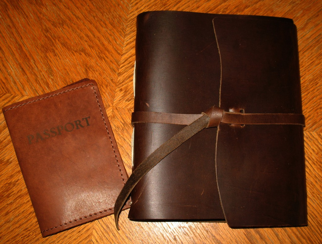 Rustico Leather Traveler Journal, Passport Cover, and Luggage Tag Review