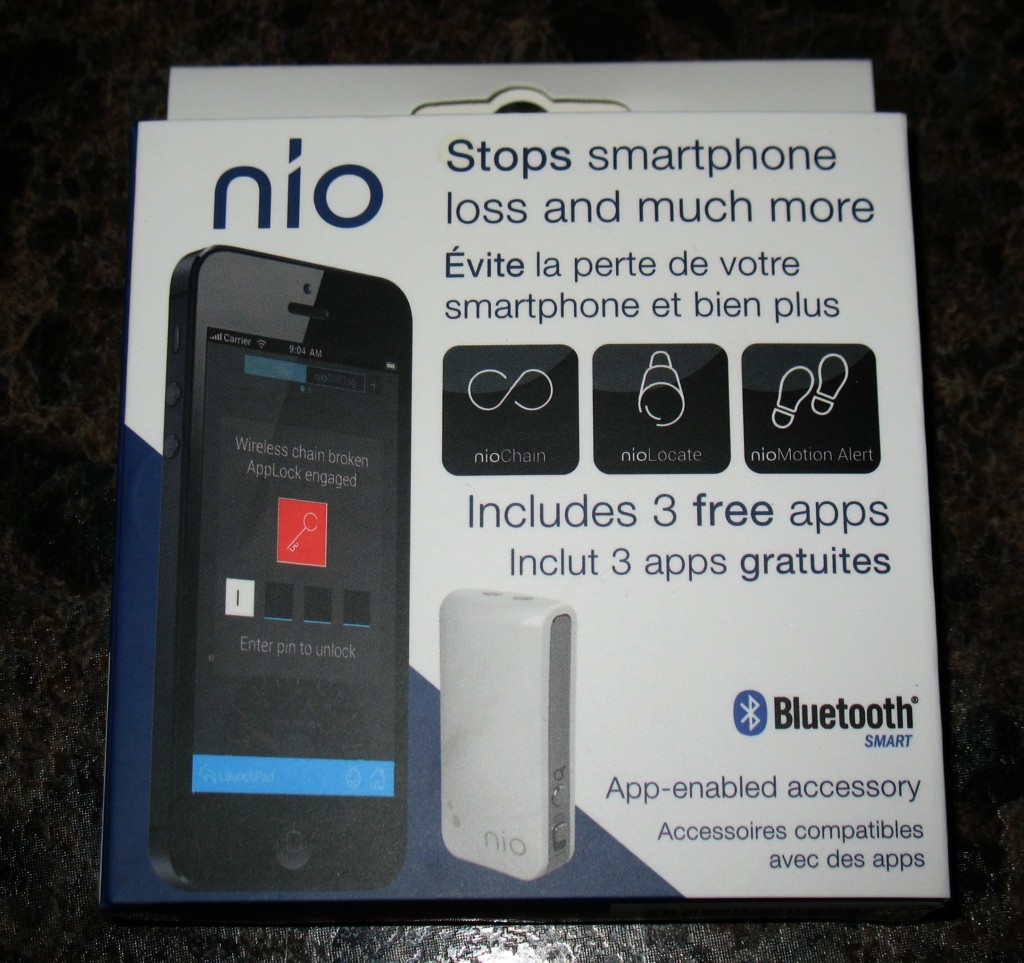 Protect Your Valuables – nio Tag
