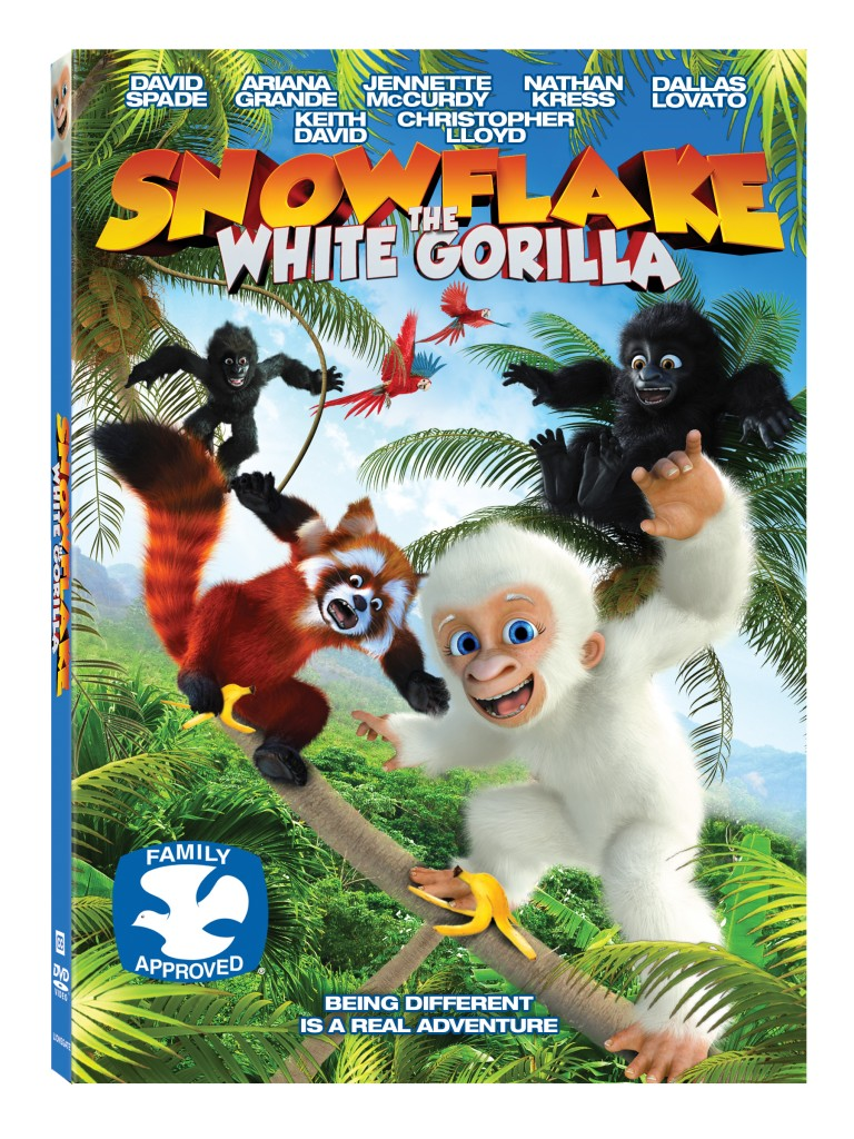 Snowflake the White Gorilla DVD Review and Giveaway
