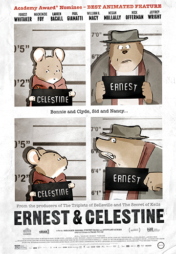 Ernest & Celestine DVD Review