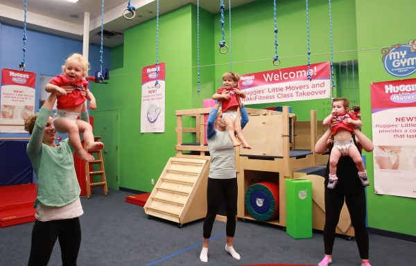 Huggies Little Movers Event and Giveaway