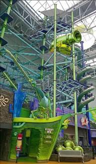 Longest Indoor Zip Line Opening at Mall of America