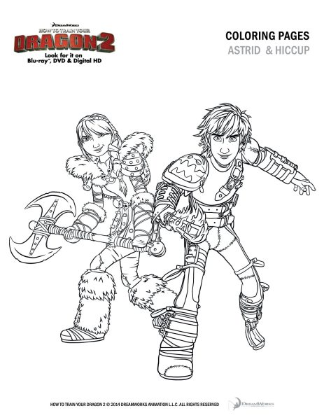 dragon 2 coloring pages - photo#24
