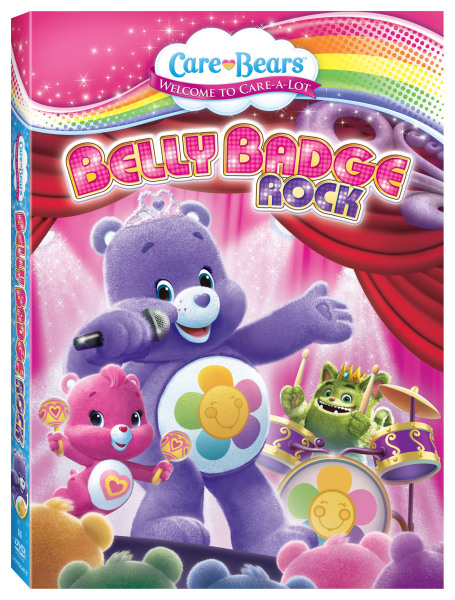 Care Bears Belly Badge Rock Release and Giveaway