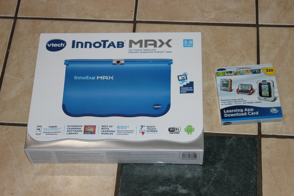 VTech InnoTab MAX Review and  Giveaway - Central Minnesota Mom afac1b8b6dd6c