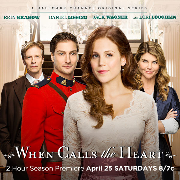 When Calls the Heart Season 2 Premiere on Hallmark Channel Plus Giveaway #Hearties