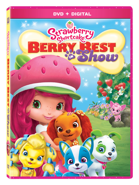 Strawberry Shortcake Berry Best in Show DVD Release and Giveaway