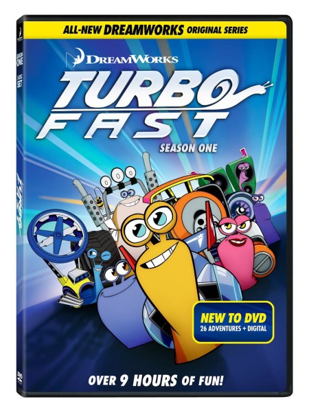 Turbo Fast Season 1 DVD Release and Giveaway