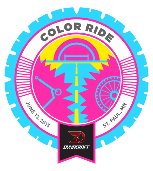 Dynacraft's Free Color Ride at St. Paul's Raspberry Island Park 6/13