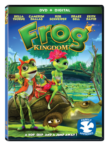 Frog Kingdom DVD Release and Giveaway