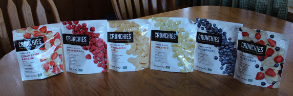 Crunchies for Healthy Holiday Snacking