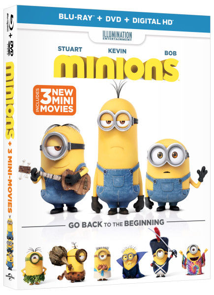 #Minions Movie Available on Blu-ray Combo, DVD, and On Demand