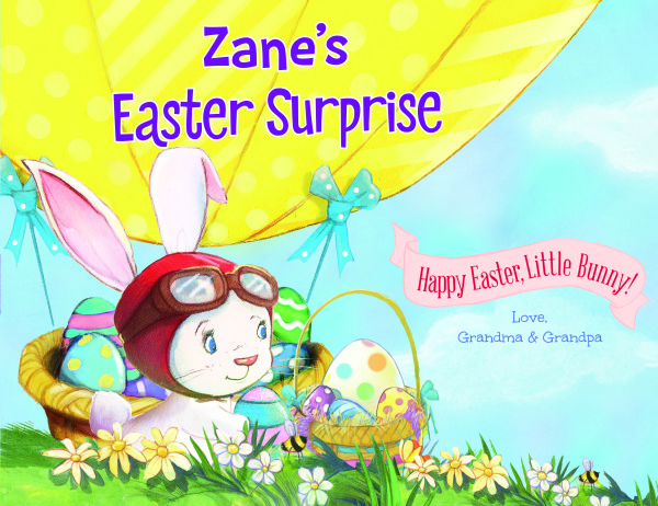 Personalized Easter Books by Put Me in the Story {Plus Giveaway}