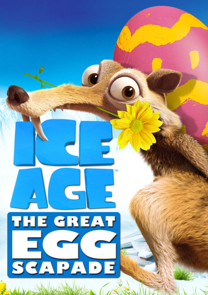 Ice Age:  The Great Egg-scapade Airing March 20 on Fox Plus Digital HD Giveaway