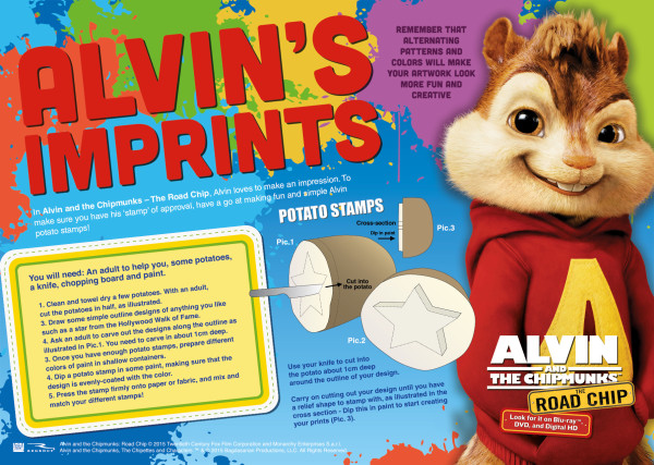 Alvin And The Chipmunks The Road Chip Release And