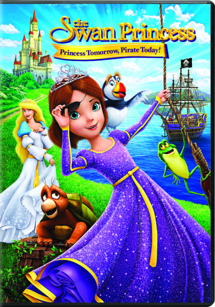 The Swan Princess:  Princess Tomorrow, Pirate Today Release {Plus Giveaway}