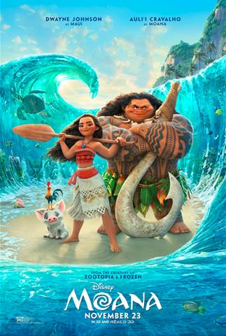 Moana Coming to Theatres This Thanksgiving