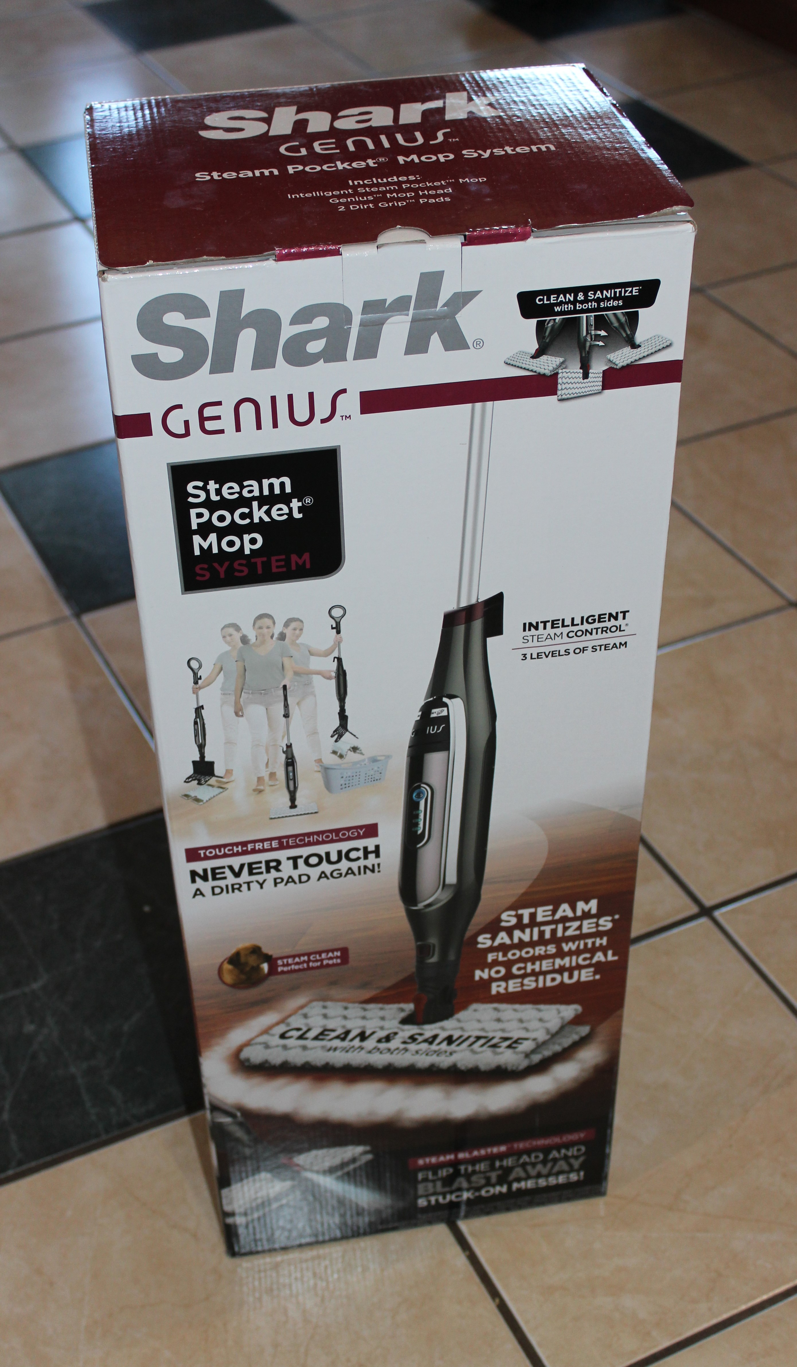 Shark Genius Steam Pocket Mop System Central Minnesota Mom