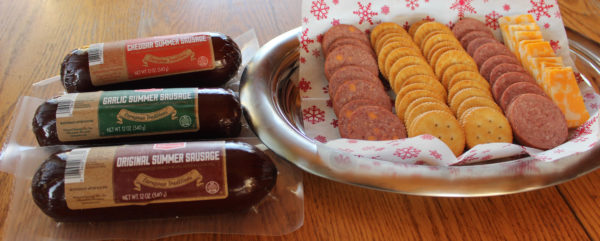Easy Holiday Appetizers with Klement's Summer Sausage