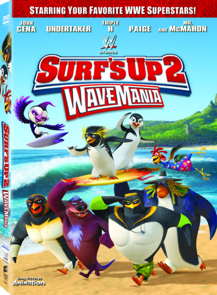 Surf's Up 2:  WaveMania out on DVD and Digital