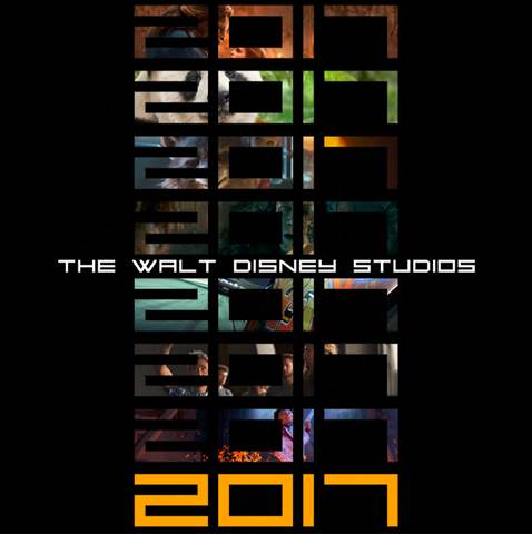 Upcoming 2017 Release Schedule from Walt Disney Studios Motion Pictures