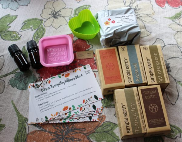 Essential Oil Recipe Box from Simply Earth