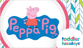 Peppa Pig and George Coming to the MOA on Tuesday, April 4!