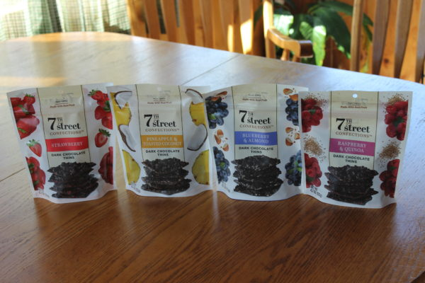 Indulgent 7th Street Confections Dark Chocolate Thins