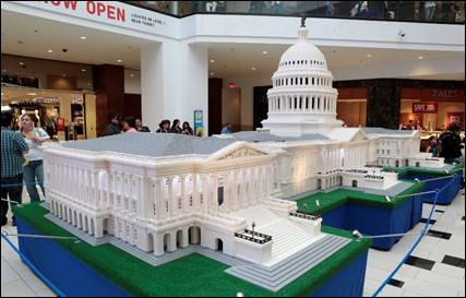 THE LEGO® AMERICANA ROADSHOW: BUILDING ACROSS AMERICA TO BE HELD AT RIDGEDALE CENTER