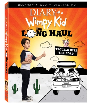 Diary of a Wimpy Kid:  The Long Haul Release on DVD and Blu-Ray