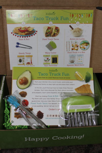 Taco Truck Fun Kit by Kidstir for Kids