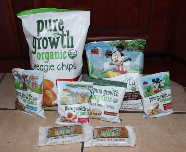 Pure Growth Organic Snacks as a Great Snack Choice