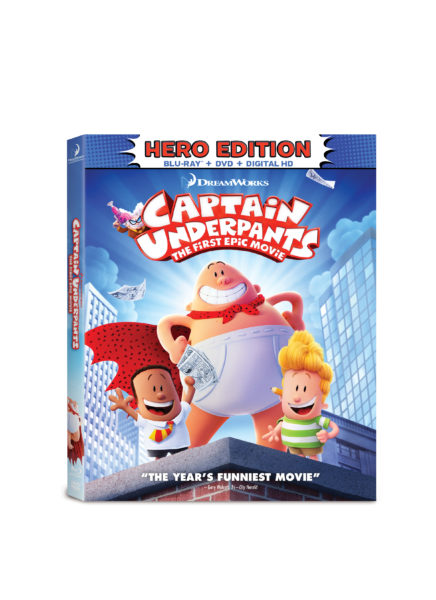 Captain Underpants The First Epic Movie #TraLaLaa