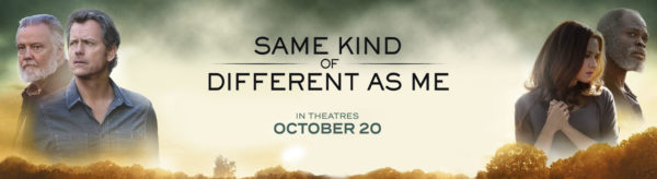 Win 2 Fandango Tickets and Check Out Same Kind of Different as Me