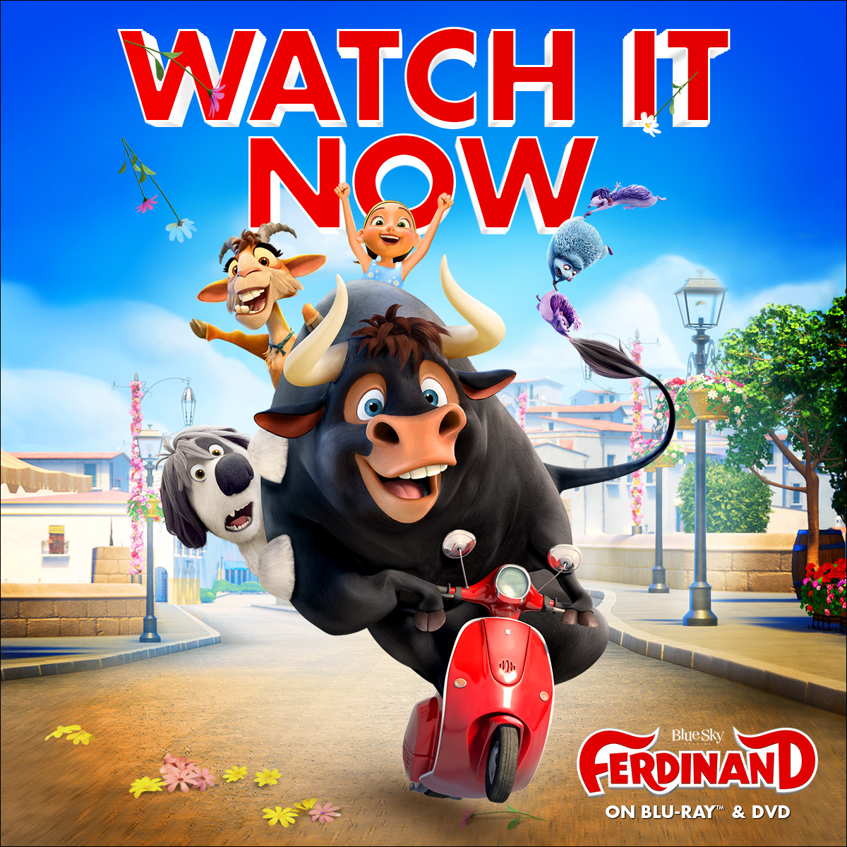 Ferdinand Out On DVD And Blu-ray For Family Entertainment